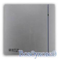 Вентилятор накладной SILENT-200 CZ SILVER DESIGN-3C